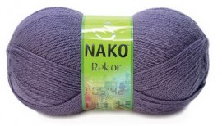 Poze Fir de tricotat sau crosetat - Fire tip mohair din acril premium Nako REKOR MOV 6684