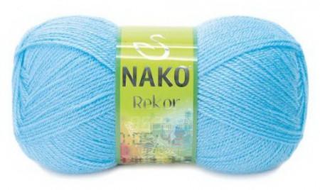 Poze Fir de tricotat sau crosetat - Fire tip mohair din acril premium Nako REKOR  BLEO 214