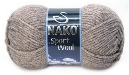 Poze Fir de tricotat sau crosetat - Fire tip mohair din acril si lana Nako Sport Wool BEJ 23294