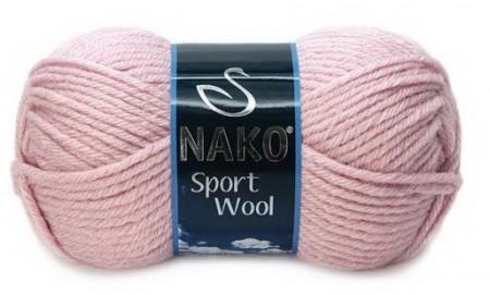 Poze Fir de tricotat sau crosetat - Fire tip mohair din acril si lana Nako Sport Wool ROZ 10639