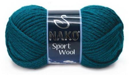 Poze Fir de tricotat sau crosetat - Fire tip mohair din acril si lana Nako Sport Wool ALBASTRU 2273