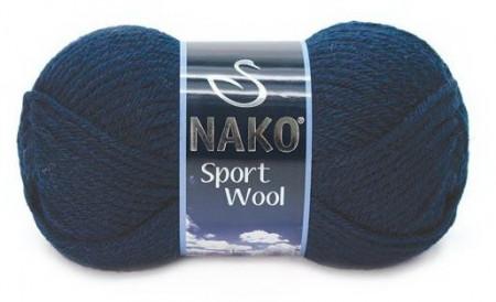 Poze Fir de tricotat sau crosetat - Fire tip mohair din acril si lana Nako Sport Wool Bleomarin 3088
