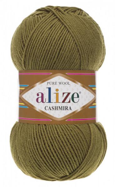 Poze Fir de tricotat sau crosetat - Fire tip mohair din lana 100%, Alize CASHMIRA KAKI 233