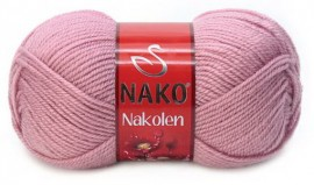 Poze Fir de tricotat sau crosetat - Fire tip mohair din lana 50% si acril 50% Nakolen ROZ 275