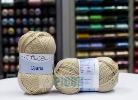 Poze Fir de tricotat sau crosetat - Fire tip mohair din poliester Filo Blu - Clara 02