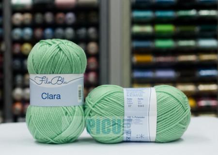 Poze Fir de tricotat sau crosetat - Fire tip mohair din poliester Filo Blu - Clara 07