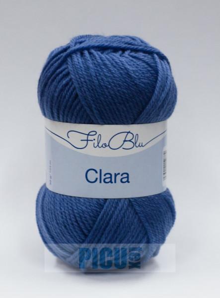Poze Fir de tricotat sau crosetat - Fire tip mohair din poliester Filo Blu - Clara 12