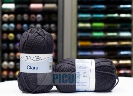 Poze Fir de tricotat sau crosetat - Fire tip mohair din poliester Filo Blu - Clara 17