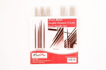 Poze KnitPro Nova Metal - set andrele pentru sosete -15 cm