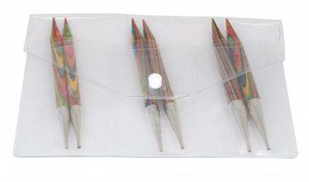 Poze KnitPro SYMFONIE WOOD - set andrele interschimbabile CHUNKY