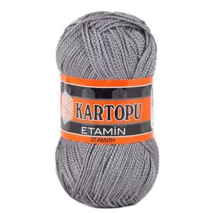 Fir de tricotat,brodat sau crosetat - Fir KARTOPU ETAMIN GRI 923