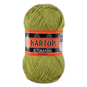 Fir de tricotat,brodat sau crosetat - Fir KARTOPU ETAMIN KAKI 442