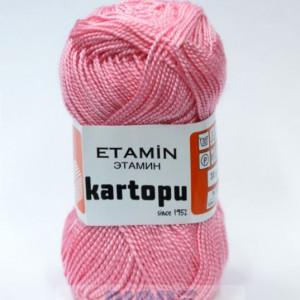 Fir de tricotat,brodat sau crosetat - Fir KARTOPU ETAMIN ROZ - 788