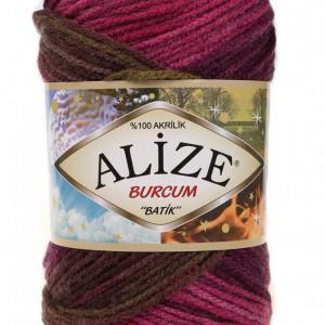Fir de tricotat sau crosetat - Fir ACRILIC ALIZE BURCUM BATIK DEGRADE 3940