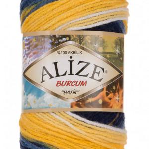 Fir de tricotat sau crosetat - Fir ACRILIC ALIZE BURCUM BATIK DEGRADE 4430