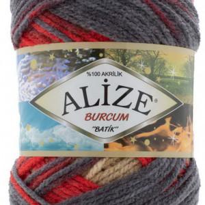 Fir de tricotat sau crosetat - Fir ACRILIC ALIZE BURCUM BATIK DEGRADE 7390
