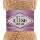 Fir de tricotat sau crosetat - Fir ALIZE COTTON GOLD BEJ 446
