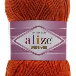 Fir de tricotat sau crosetat - Fir ALIZE COTTON GOLD CARAMIZIU 36
