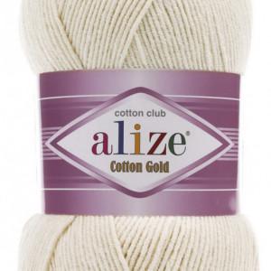 Fir de tricotat sau crosetat - Fir ALIZE COTTON GOLD CREAM 599