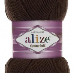 Fir de tricotat sau crosetat - Fir ALIZE COTTON GOLD MARO 26