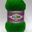 Fir de tricotat sau crosetat - Fir ALIZE COTTON GOLD VERDE 126