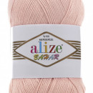 Fir de tricotat sau crosetat - Fir BUMBAC 100% ALIZE BAHAR PUDRA 143
