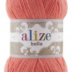 Fir de tricotat sau crosetat - Fir BUMBAC 100% ALIZE BELLA 100 - FREZ 619