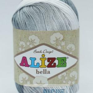 Fir de tricotat sau crosetat - Fir BUMBAC 100% ALIZE BELLA BATIK 2905