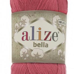 Fir de tricotat sau crosetat - Fir BUMBAC 100% ALIZE BELLA - ROZ 254