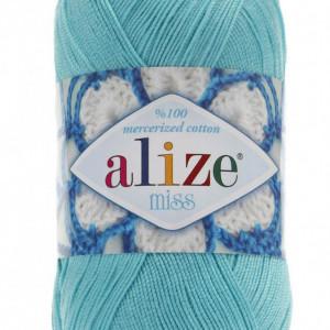 Fir de tricotat sau crosetat - Fir BUMBAC 100% ALIZE MISS BLEO 263