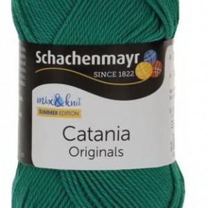 Fir de tricotat sau crosetat - Fir BUMBAC 100% MERCERIZAT CATANIA SMARAGD 430