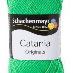 Fir de tricotat sau crosetat - Fir BUMBAC 100% MERCERIZAT CATANIA VERDE 389