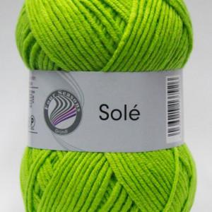 Fir de tricotat sau crosetat - Fir GRUNDL - SOLE - VERDE 23