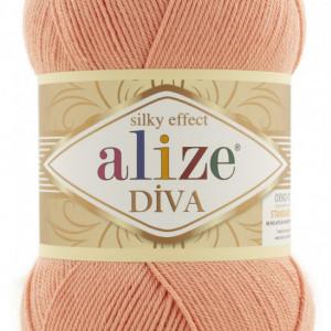 Fir de tricotat sau crosetat - Fir microfibra ALIZE DIVA FREZ 633