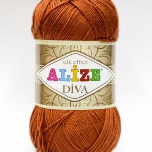 Fir de tricotat sau crosetat - Fir microfibra ALIZE DIVA MARO 36
