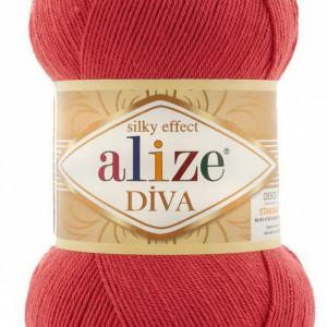 Fir de tricotat sau crosetat - Fir microfibra ALIZE DIVA SOMON 366