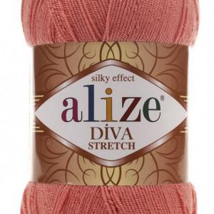 Fir de tricotat sau crosetat - Fir microfibra ALIZE DIVA STRETCH SOMON 619