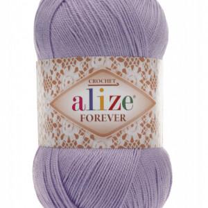 Fir de tricotat sau crosetat - Fir microfibra ALIZE FOREVER LILA 158