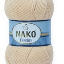 Fir de tricotat sau crosetat - FIR NAKO DENIM CREAM 11585