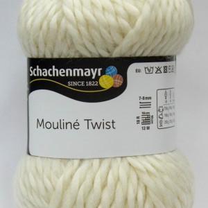 Fir de tricotat sau crosetat - Fir SCHACHENMAYR Mouline Twist CREM 00002