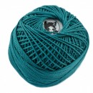 Fir de tricotat sau crosetat - Fire Bumbac 100% ANGELICA ROMANOFIR BOBINA VERDE 1246