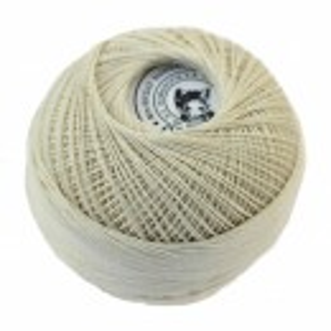 Fir de tricotat sau crosetat - Fire Bumbac 100% CROSET ROMANOFIR BOBINA CREAM 1203