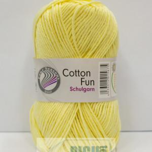 Fir de tricotat sau crosetat - Fire Bumbac 100% GRUNDL COTTON FUN GALBEN 22