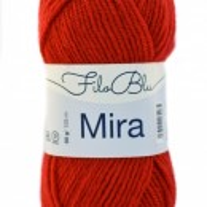 Fir de tricotat sau crosetat - Fire Filo Blu - MIRA - 4 - ROSU