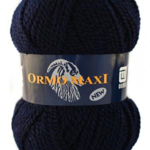 Fir de tricotat sau crosetat - Fire Nako - Ormo Maxi - ALBASTRU MARIN - 1138