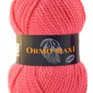 Fir de tricotat sau crosetat - Fire Nako - Ormo Maxi - ROZ - 6737