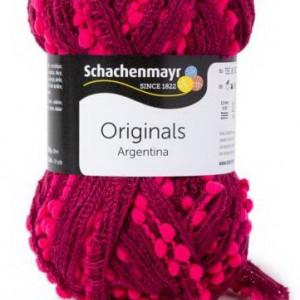 Fir de tricotat sau crosetat - Fire pretricotate esarfa Argentina A81