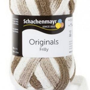 Fir de tricotat sau crosetat - Fire pretricotate esarfa FRILLY degrade 00093