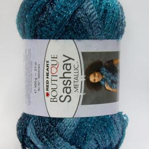Fir de tricotat sau crosetat - Fire pretricotate esarfa SASHAY METALIC SM9951