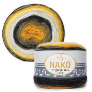 Fir de tricotat sau crosetat - Fire tip mohair acril NAKO ANGORA LUKS COLOR 81908